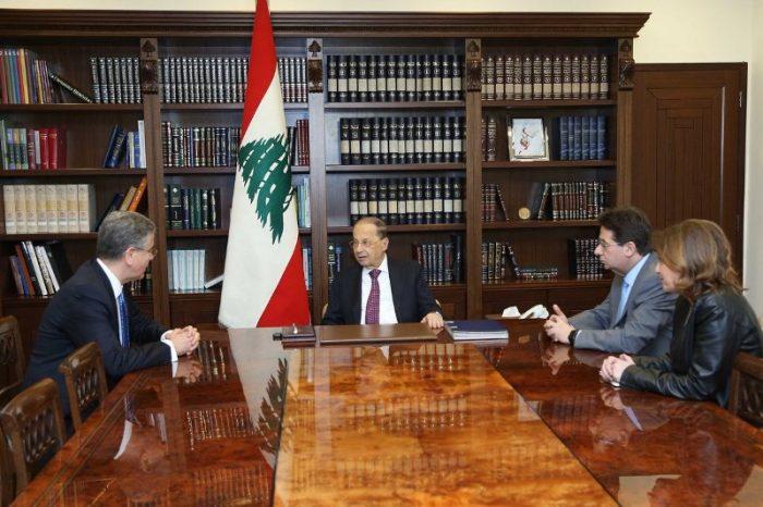WB representative visits Aoun, says funding Lebanon projects priority