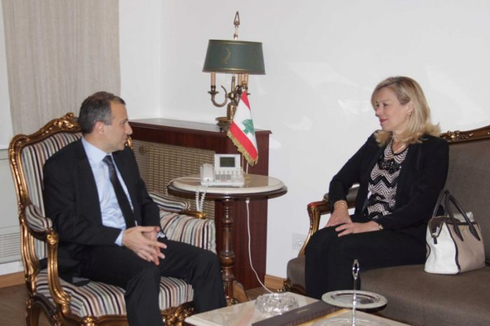 Kaag, Bassil discuss situation in Ain al Helwe