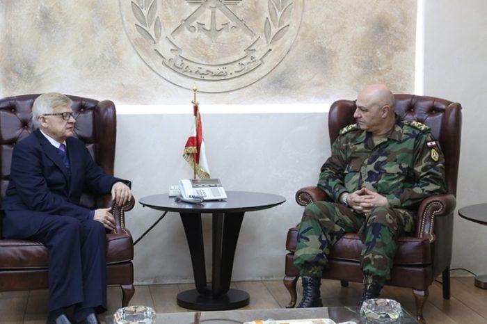 Aoun receives Zasypkin, others