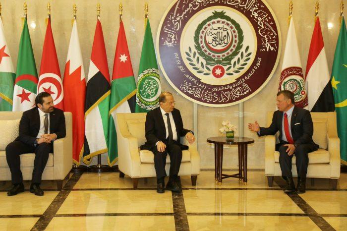Aoun, Hariri reach Amman