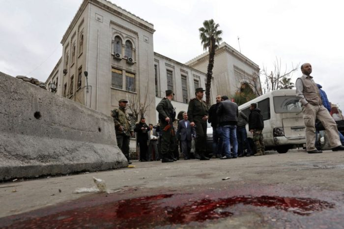 Two Suicide Blasts Rock Damascus