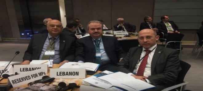 Lebanese parliamentary delegation, IMF Middle East officer discuss Lebanon affairs
