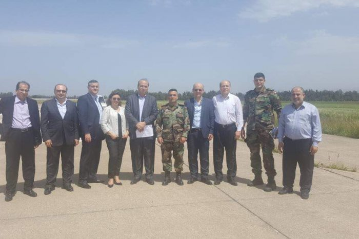 Special committee inspects Qlayaat Airport commissioned by Fenianos