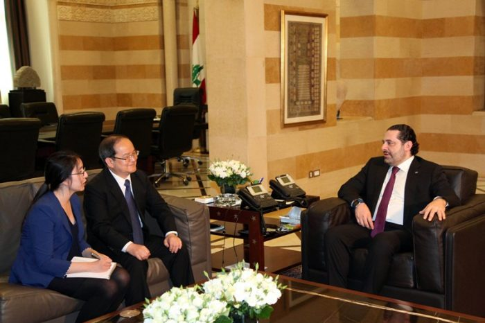 Hariri receives Chinese and ATFL delegations, Tajik Ambassador