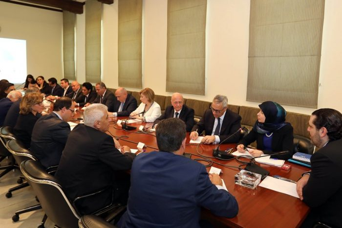 Hariri chairs meeting of committee tasked to develop national anti corruption plan