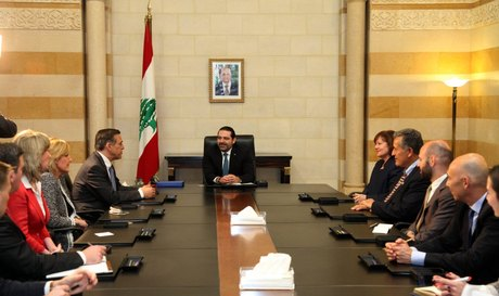 Hariri Meets U.S. Congressman of Lebanese Origin Issa