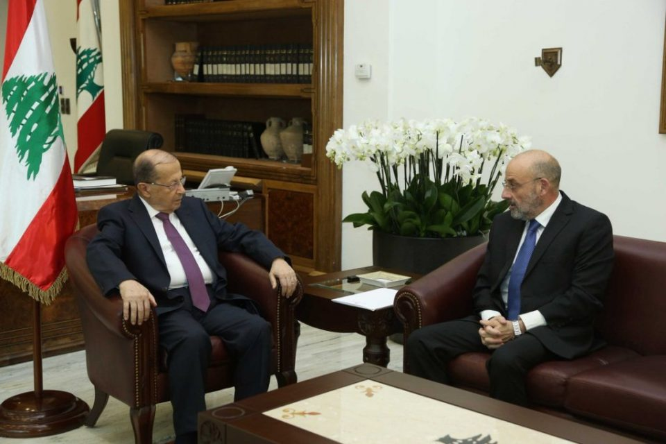 Aoun asserts forthcoming legislative elections shall take place